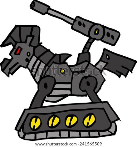 trojan - stock vector