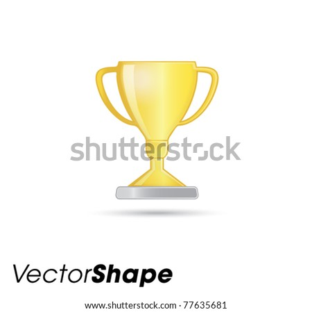 Trophy web application icons vector illustration - stock vector