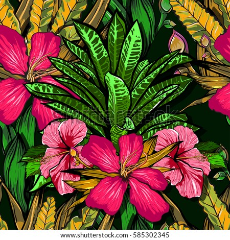 Jungle Flowers Stock Images, Royalty-Free Images & Vectors ...