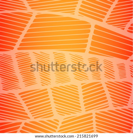 Tropical Line pattern background vector - stock vector