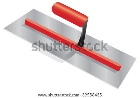 trowel - stock vector