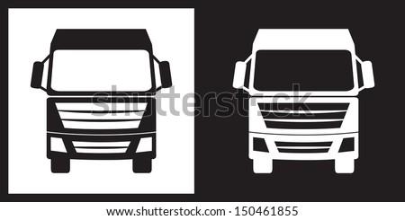 Truck icon - stock vector