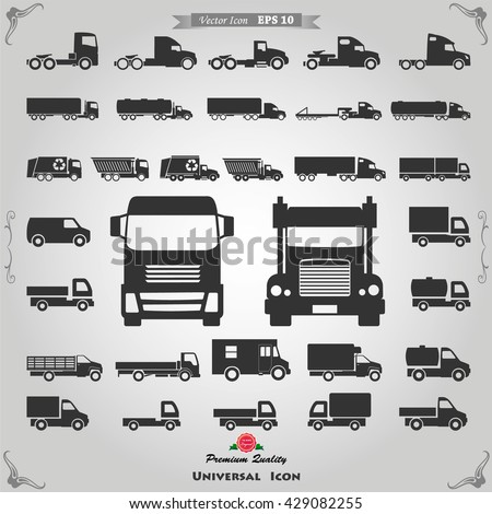 Truck Icon, Truck Icon Vector, Truck Icon Flat, Truck Icon Sign, Truck Icon App, Truck Icon UI, Truck Icon Art, Truck Icon Logo, Truck Icon Web, Truck Icon, Truck Icon JPG, Truck Icon EPS, Truck Icon - stock vector