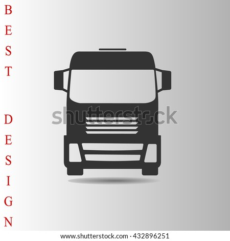 Truck Icon, Truck Icon Vector, Truck Icon Flat, Truck Icon Sign, Truck Icon App, Truck Icon UI, Truck Icon Art, Truck Icon Logo, Truck Icon Web, Truck Icon, Truck Icon JPG, Truck Icon EPS, Truck Icon - stock vector