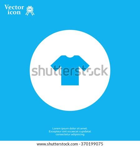Tshirt Icon icon, vector illustration.  - stock vector