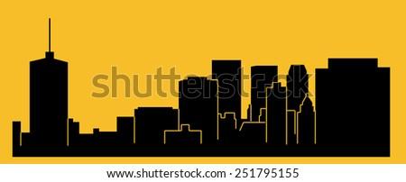 Tulsa, Oklahoma - stock vector