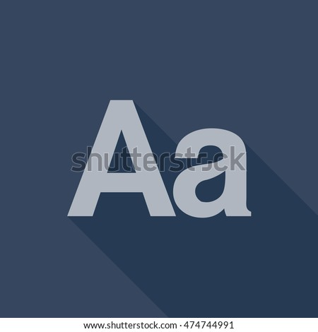 Tumblr Text Post Icon Vector Isolated Stock Vector 474744991