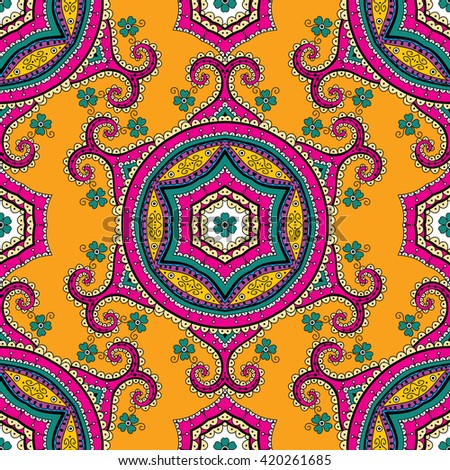 Turkish ornament ,  seamless pattern, vector image