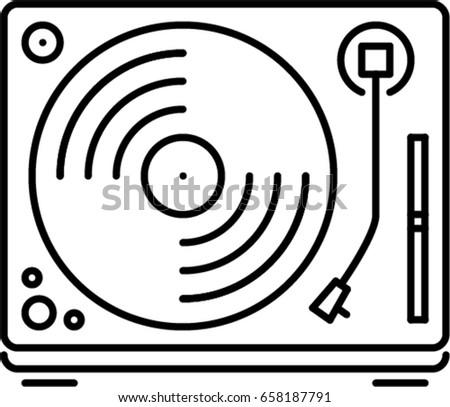 No Loud Music Sign Circular Stock Vector 402246325 ...