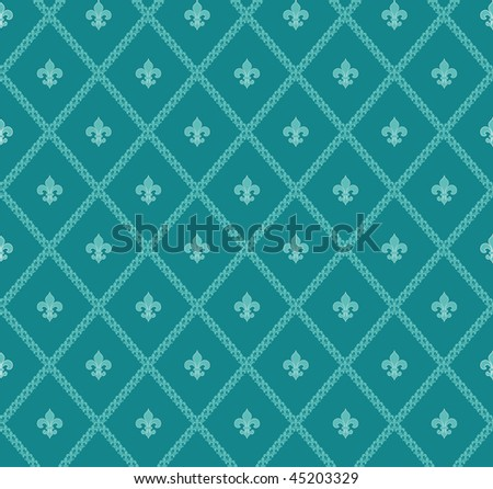 Turquoise vector background - stock vector