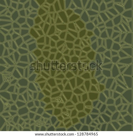 Turtle texture background - stock vector