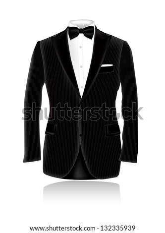 Tuxedo eps10 - stock vector