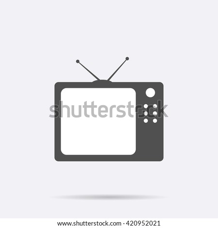 TV. TV ui. TV icon, TV icon eps10, TV icon vector, TV icon eps, TV icon jpg, TV icon picture, TV icon flat, TV icon app, TV icon web, TV icon art, TV icon, TV icon object, TV icon flat, TV icon UI, TV - stock vector