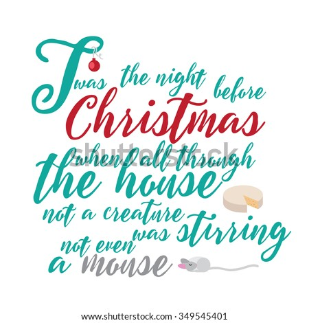 Night Before Christmas Stock Images, Royalty-Free Images ...