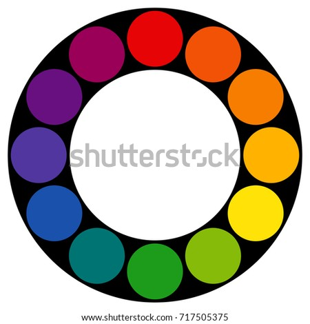 Twelve Part RYB Red Yellow Blue This Color System Is Used By