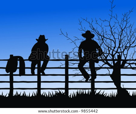 at cowboy fence stock photos images amp pictures