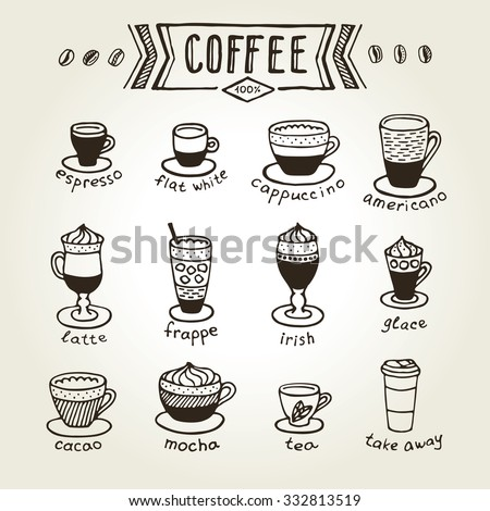 Coffee Types Stock Images Royalty Free Images Amp Vectors
