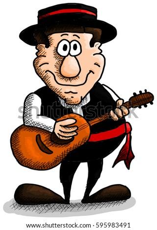 Spanish guitar red orgy 2