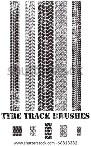 tyre track brushes