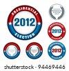 U.S. presidential election 2012 - stock photo