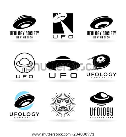 UFO (1) - stock vector