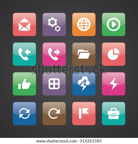UI Outline For Web and Mobile icons universal set for web and mobile