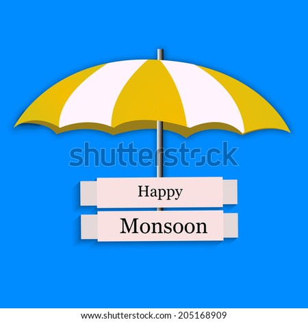 Umbrella for Monsoon Season