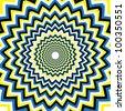 Uncanny    (motion illusion) - stock photo