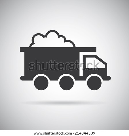under construction design over  gray background vector illustration