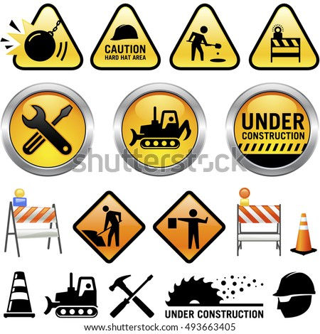 Under Construction Icons