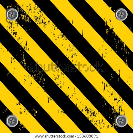 Under Construction Tape Background Construction Zo...
