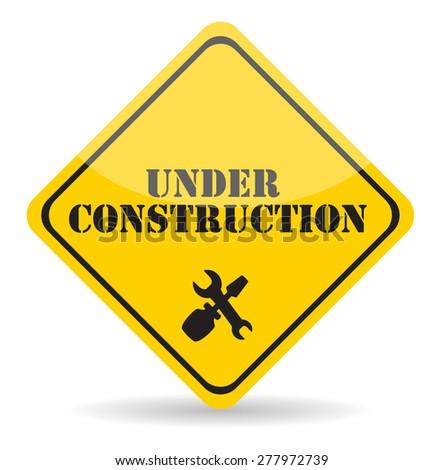 Under Construction. Vector Illustration Eps10. - stock vector