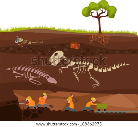 underground - stock vector