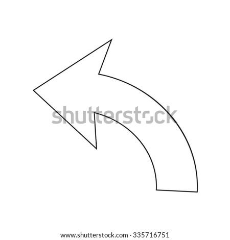 Undo Icon sign Illustration - stock vector