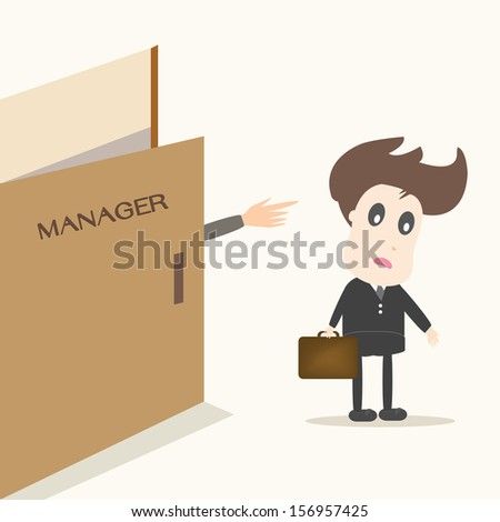 unemployment - stock vector