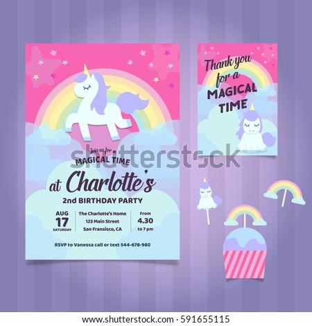 Birthday Party Invitation Images RoyaltyFree Images – 2nd Birthday Party Invitations