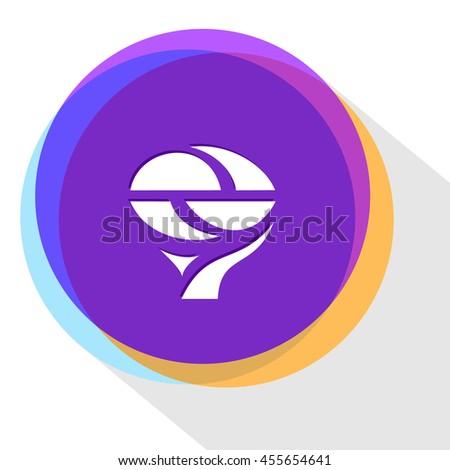 unique abstract forms. Internet template. Vector icon. - stock vector