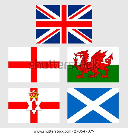 Irish Uk Flags Stock Photos Images Amp Pictures Shutterstock