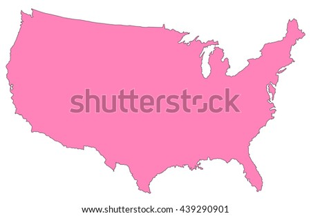 Us Map Vector D Stock Images RoyaltyFree Images Vectors - Us state map editable color