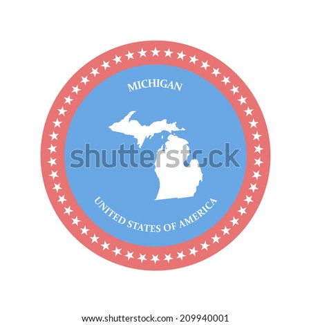 United states. Vector illustration. eps8