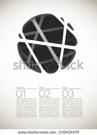 universal abstract vector background - stock vector