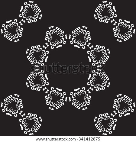 Universal different vector vintage patterns. Endless texture can be used for wallpaper, pattern fills, web page background,surface textures. Retro monochrome geometric ornament. - stock vector