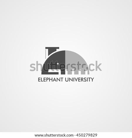 University Logo Design Template. - stock vector
