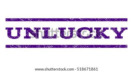 unlucky watermark stamp text caption between horizontal parallel