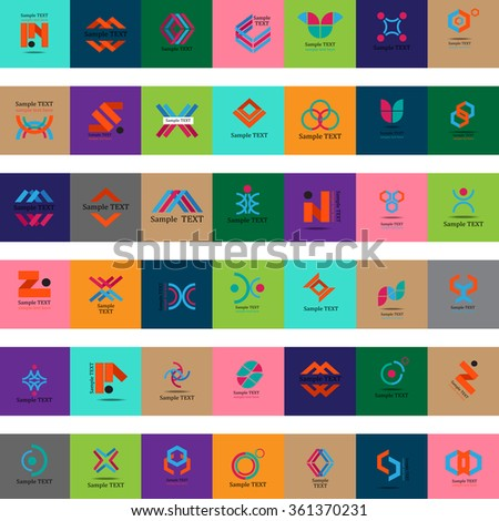 Unusual Icons Set - Isolated On Background - Vector Illustration, Graphic Design Editable For Your Design - stock vector