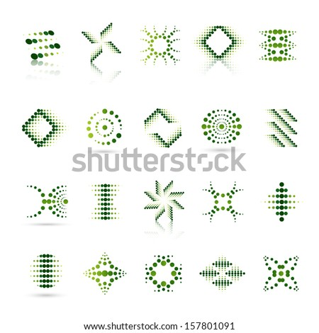 Unusual Icons Set - Isolated On White Background - Vector Illustration, Graphic Design Editable For Your Design. Logo Icons  - stock vector