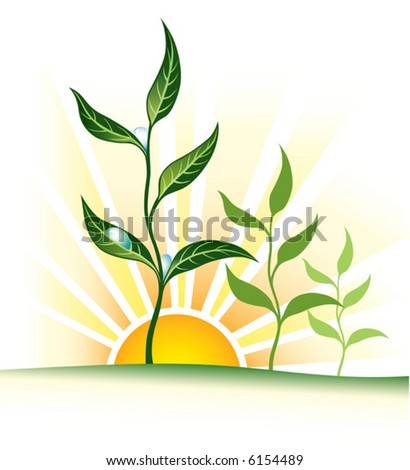 up-rise - stock vector