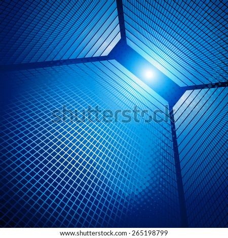 Urban abstract background. Vector illustration. - stock vector