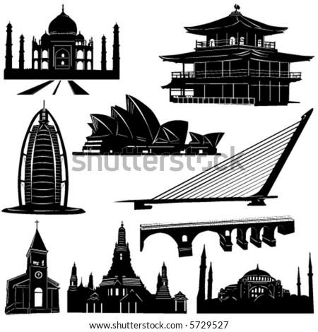 urban architecture building vector 2 - stock vector