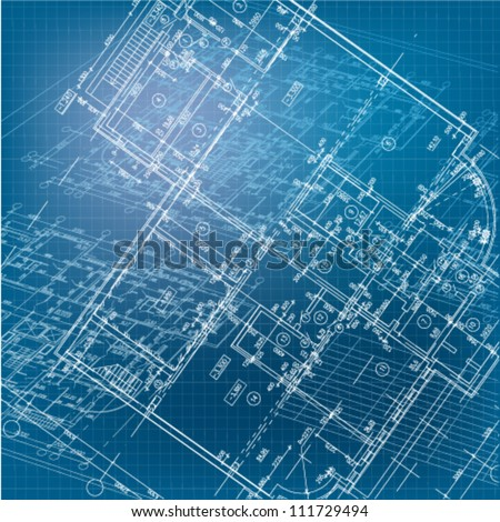 Urban blueprint vector architectural background part stock vector urban blueprint vector architectural background part of architectural project architectural plan malvernweather